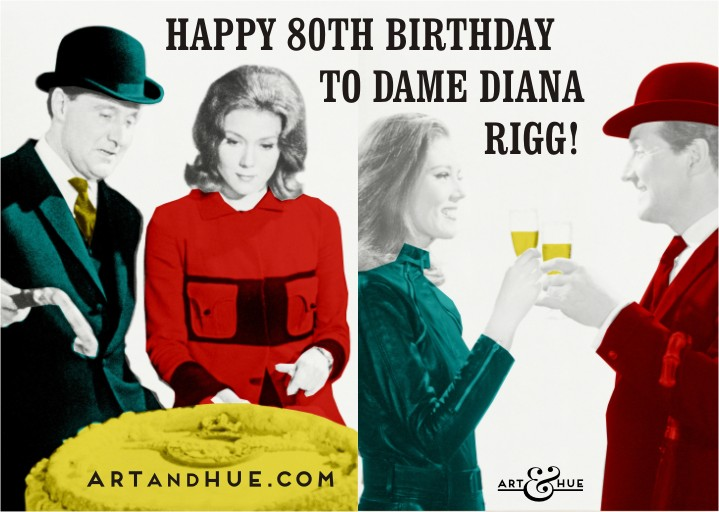 Happy 80th Dame Diana!