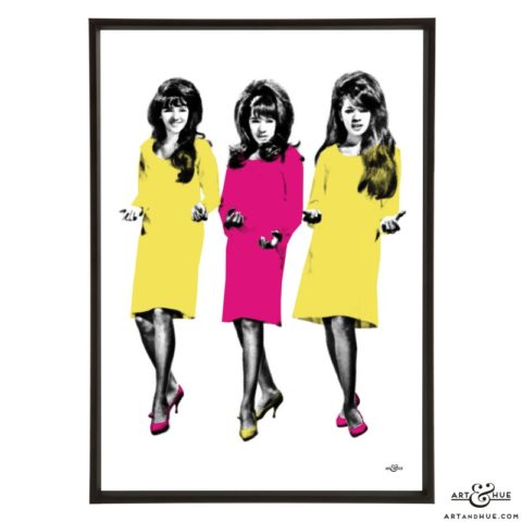 The Ronettes by Art & Hue
