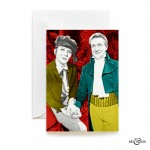 Dickensian Christmas with The Avengers Steed and Peel by Art & Hue