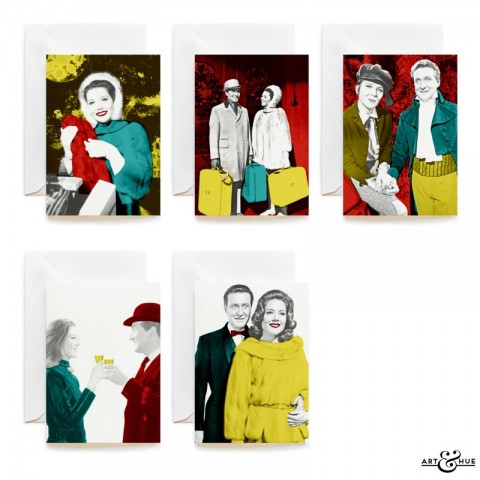 The Avengers Christmas Cards group by Art & Hue