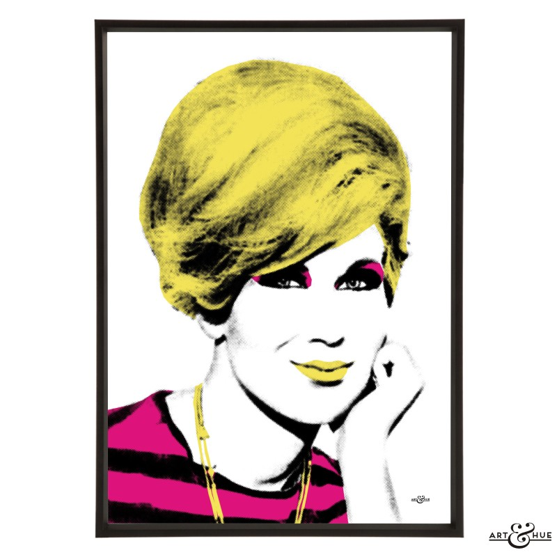 Dusty Springfield Pop Art print by Art & Hue
