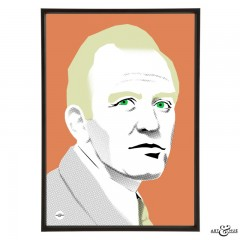 Gordon Jackson stylish pop art illustration by Art & Hue