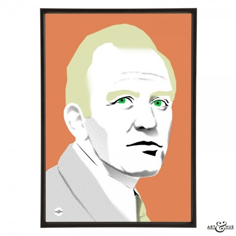 Gordon Jackson stylish pop art illustration by Art & Hue