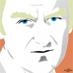 John Thaw 70s Cops by Art & Hue