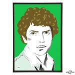 Martin Shaw stylish pop art illustration by Art & Hue
