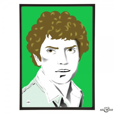 Martin Shaw stylish pop art illustration by Art & Hue