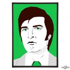 Patrick Mower 1970s Cop by Art & Hue