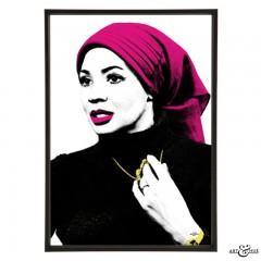 Shirley Bassey Pop Art by Art & Hue