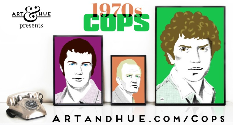 The Professionals stylish pop art illustrations by Art & Hue