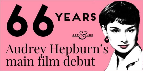 Audrey Hepburn's main film debut