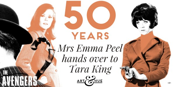 Mrs Peel hands over to Tara King