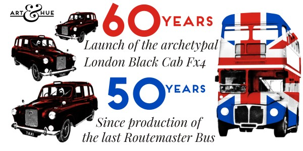 Routemaster Bus & London Taxi Black Cabs