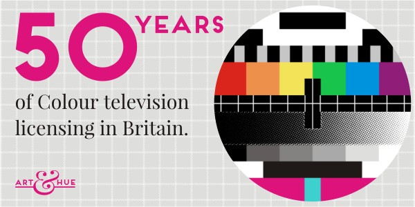 50 years of Colour TV licenses