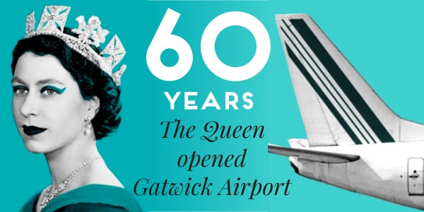 The Queen Opens Gatwick Airport