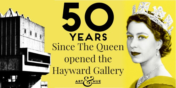50 years since The Queen opened the Hayward Gallery
