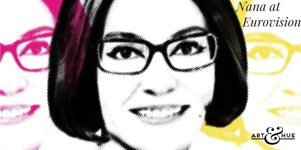 Nana Mouskouri at the Eurovision Song Contest