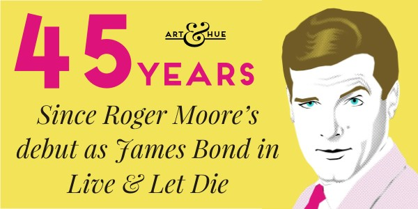 Roger Moore's Debut as James Bond 007