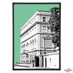 Clarence House pop art print by Art & Hue
