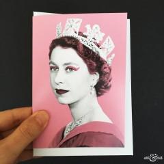 GREETING_CARD_Queen_Elizabeth_II_Pink_Scale