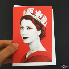 GREETING_CARD_Queen_Elizabeth_II_Red_Scale