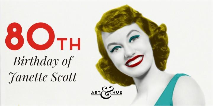 Janette Scott's 80th Birthday