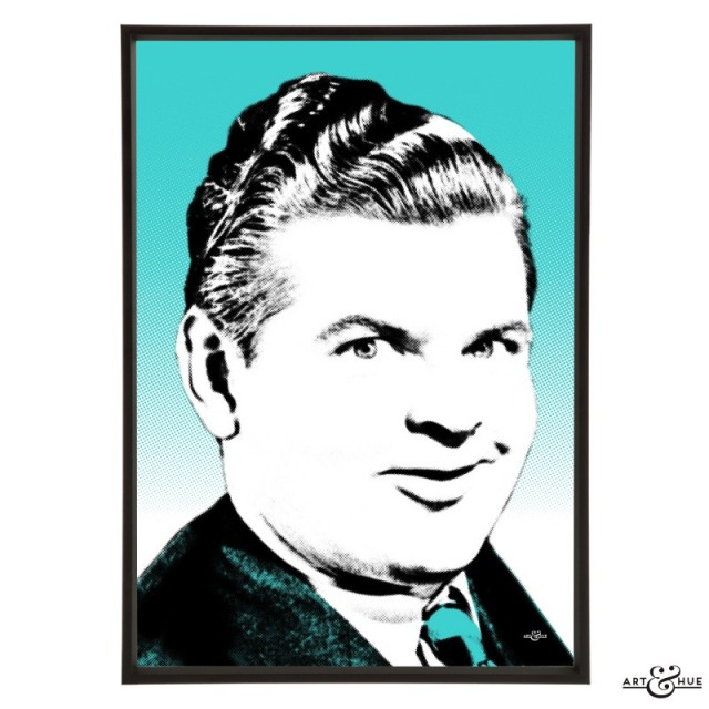Benny Hill Pop Art by Art & Hue