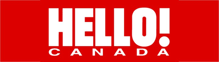Hello Magazine Canada Masthead