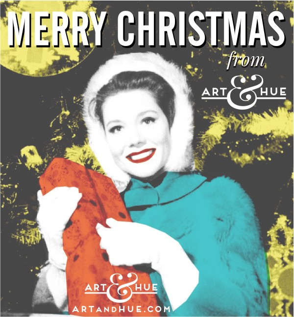 Merry Christmas from Art & Hue!