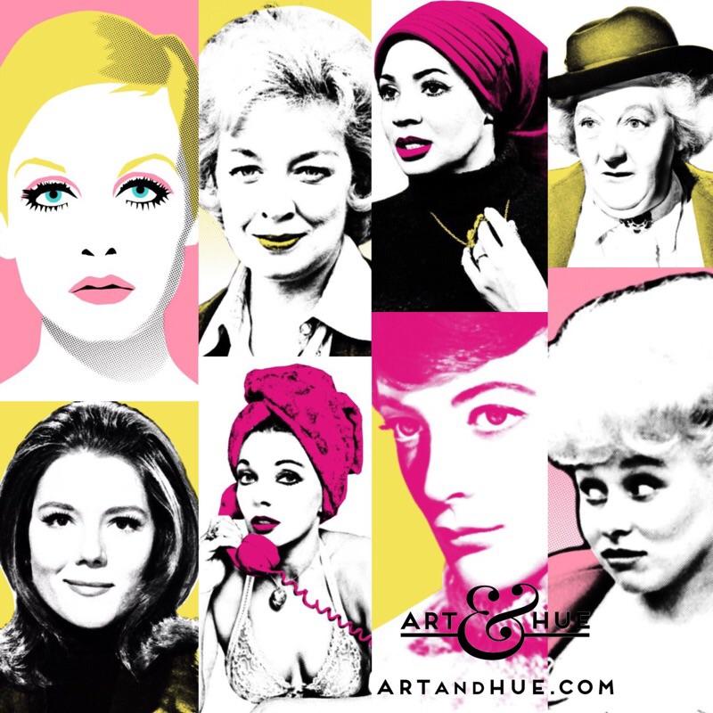 Dames pop art by Art & Hue