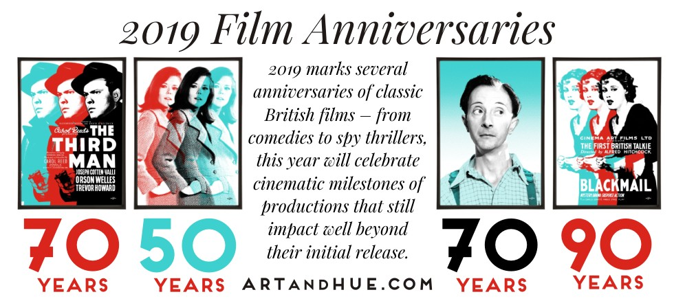 2019 film anniversaries to celebrate