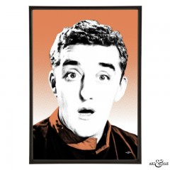 Bernard Cribbins pop art print by Art & Hue