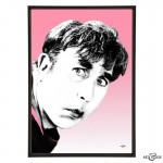 Frankie Howerd pop art by Art & Hue