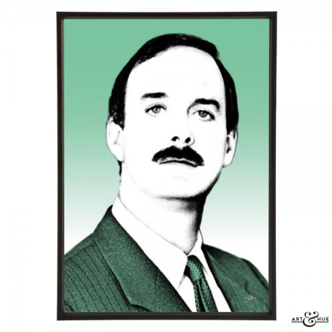 John Cleese pop art by Art & Hue