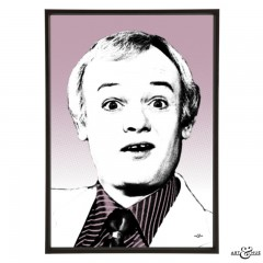 John Inman pop art by Art & Hue
