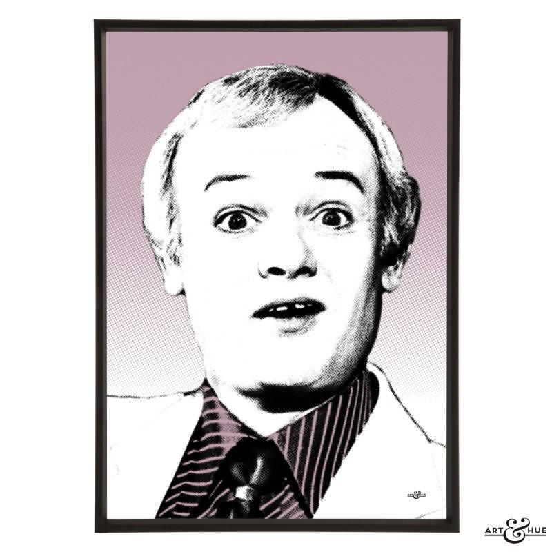 John Inman pop art by Art & Hue