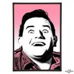 Ronnie Barker stylish pop art prints by Art & Hue