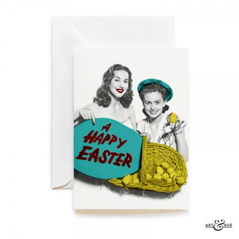 Easter Duo Greeting Card by Art & Hue