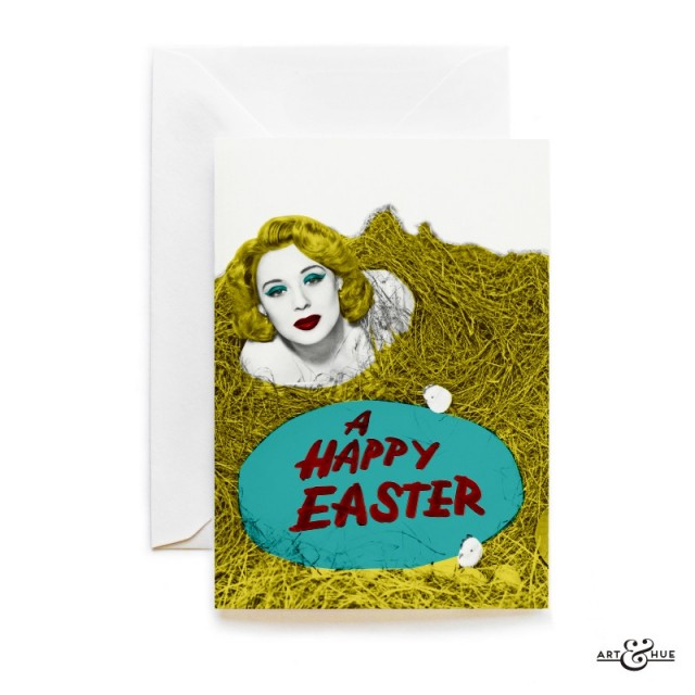 Easter Hay Greeting Card by Art & Hue