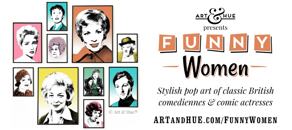 Art & Hue presents Funny Women stylish pop art prints