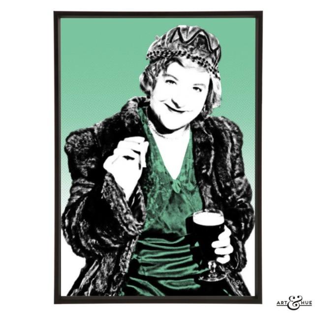 Irene Handl pop art by Art & Hue