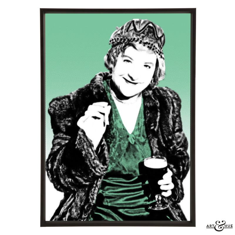 Irene Handl pop art by Art & Hue