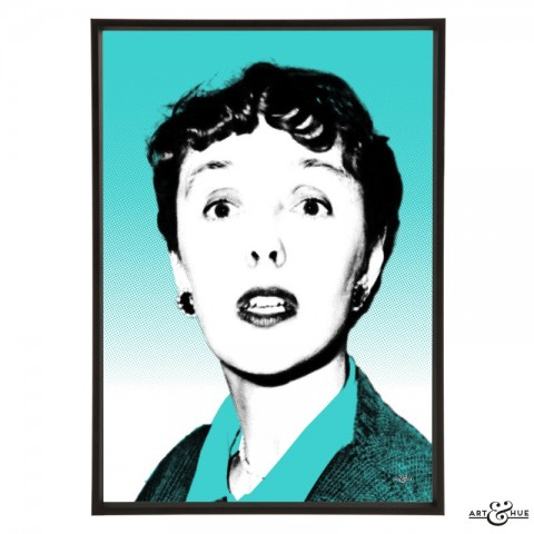 Joyce Grenfell pop art by Art & Hue