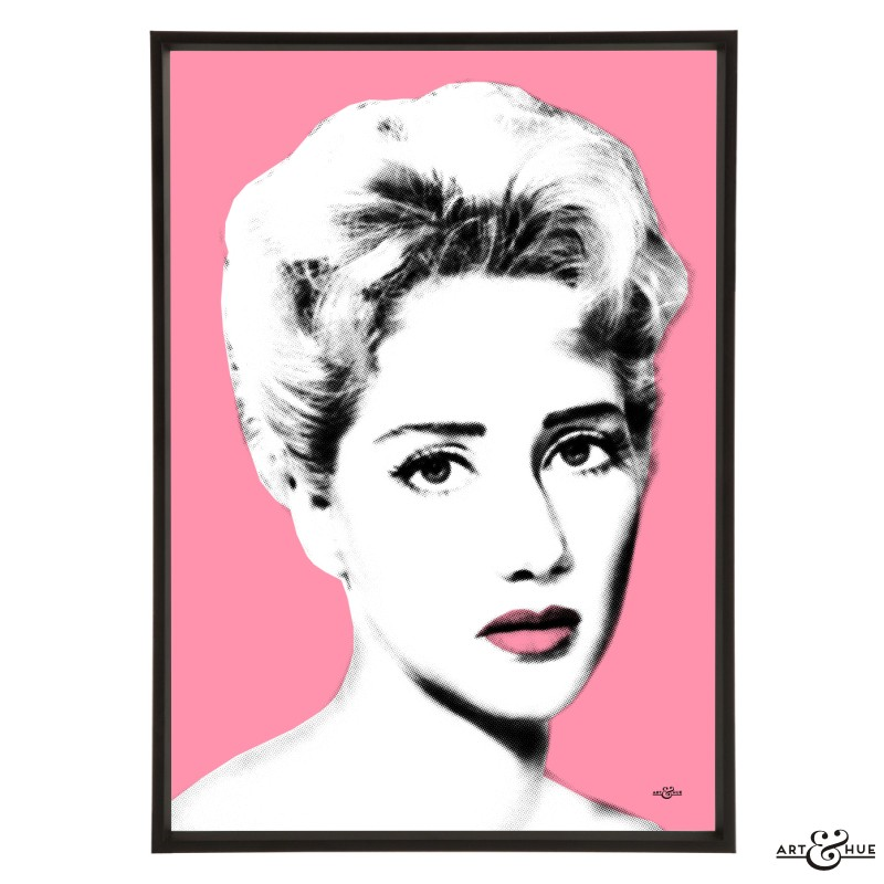 Liz Fraser pop art by Art & Hue