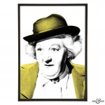Margaret Rutherford pop art by Art & Hue