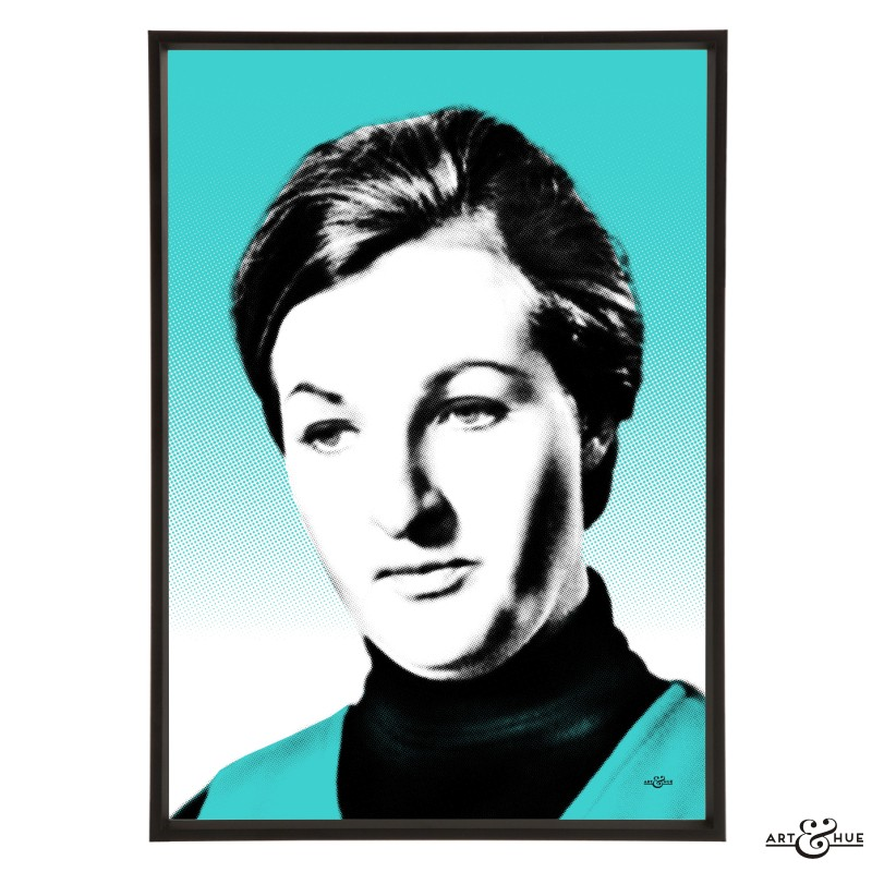 Penelope Keith pop art by Art & Hue