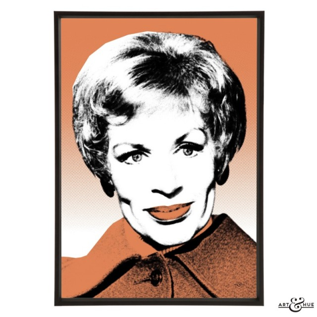 Yootha Joyce pop art by Art & Hue