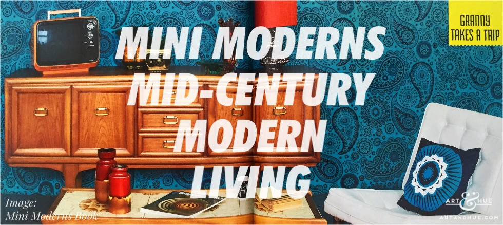 Mini Moderns Mid-Century Modern Living Book out now