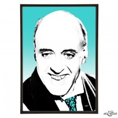 Alastair Sim in Hue & Cry - pop art by Art & Hue