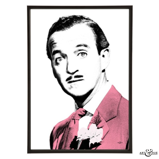 David Niven in The Love Lottery - pop art by Art & Hue