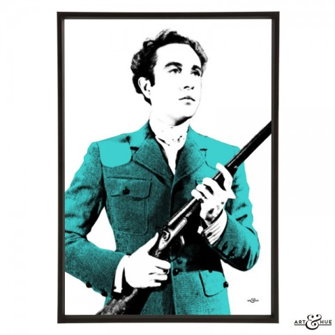 Dennis Price in Kind Hearts & Coronets - pop art by Art & Hue